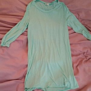 Tobi Tunic long t-shirt Small